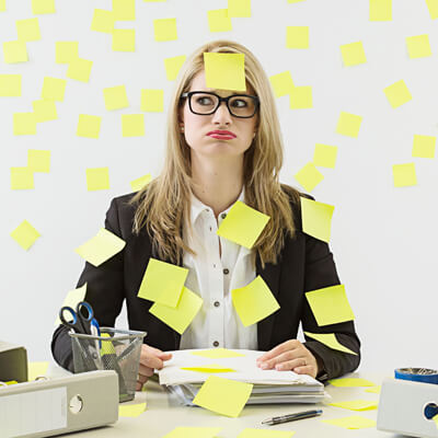 Dokumentenmanagement | Post its